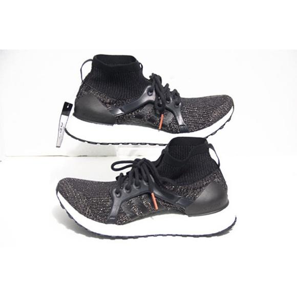 0c01b1b59 Adidas Womens Ultra Boost Mid Core Black Size 8.5